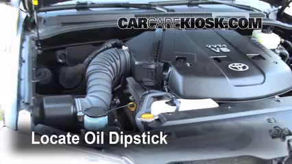 2008 Toyota 4Runner SR5 4.0L V6 Oil Check Oil Level