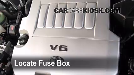 replace a fuse: 2005-2012 toyota avalon - 2006 toyota avalon xl ... 2006 avalon fuse box  carcarekiosk