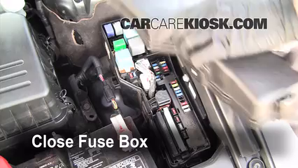 replace a fuse 2005 2012 toyota avalon 2008 toyota avalon limited Fuse Box for 2005 Chrysler 300 6 replace cover secure the cover and test component