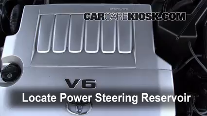Check Power Steering Level Toyota Avalon (2005-2012) - 2008