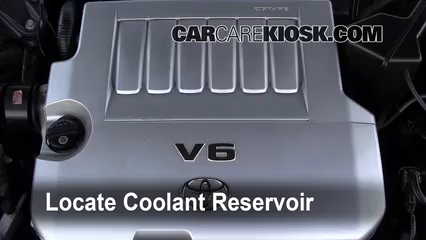 2008 Toyota Avalon Limited 3.5L V6 Coolant (Antifreeze) Add Coolant