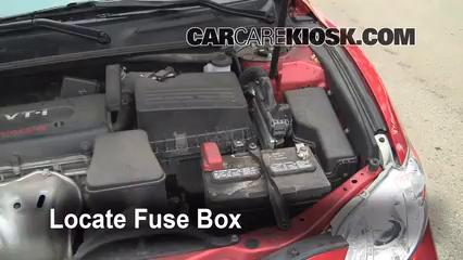 2008 Toyota Camry LE 2.4L 4 Cyl. Fuse (Engine) Check