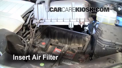 Air Filter How-To: 2008-2013 Toyota Highlander - 2008 Toyota ...