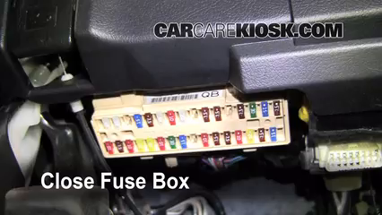Interior Fuse Box Location: 2008-2013 Toyota Highlander - 2008 ...