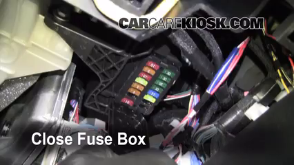 2008 toyota corolla fuse box location