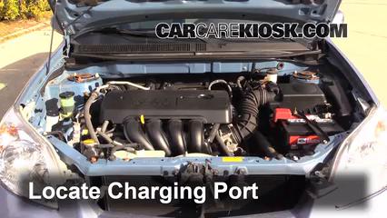 Toyota Matrix Xr L Cyl Fair Conditioning Fill Part on 2008 Pontiac Vibe Fuse Box Location