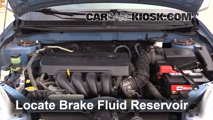 2008 Toyota Matrix XR 1.8L 4 Cyl. Brake Fluid