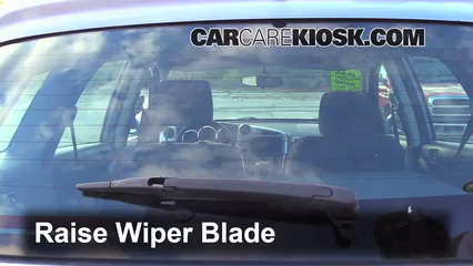 2008 Toyota Matrix XR 1.8L 4 Cyl. Windshield Wiper Blade (Rear)