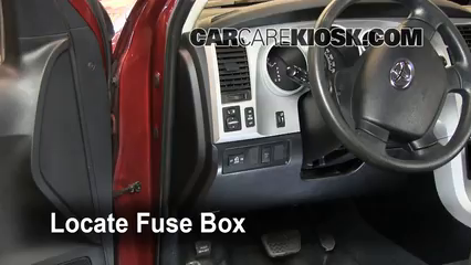 2008 Toyota Tundra SR5 4.7L V8 Crew Cab Pickup%2FFuse Interior Part 1 interior fuse box location 2007 2013 toyota tundra 2007 toyota 2008 toyota auris fuse box location at panicattacktreatment.co