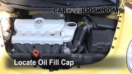 Oil & Filter Change Volkswagen Beetle (2006-2010) - 2008