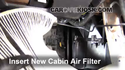 Cabin Filter Replacement: Volvo C30 2008-2013 - 2008 Volvo