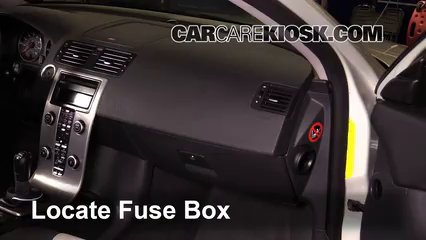 Fuse Interior Part 1 interior fuse box location 2008 2013 volvo c30 2008 volvo c30 2001 volvo s40 interior fuse box at bakdesigns.co