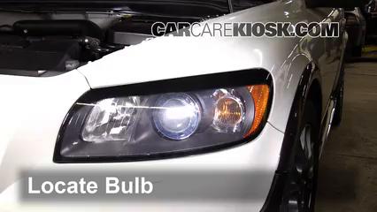 Headlight Change 2008-2013 Volvo C30 - 2008 Volvo C30 T5 2 5