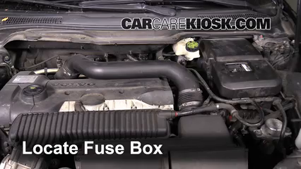 2008 Volvo C70 T5 2.5L 5 Cyl. Turbo Fuse (Engine) Replace