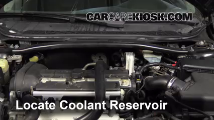 2008 Volvo S60 2.5T 2.5L 5 Cyl. Turbo Coolant (Antifreeze)