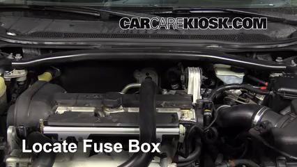 Replace A Fuse 2001 2009 Volvo S60 2008 Volvo S60 2 5t 2 5l 5 - Repair Wiring Scheme