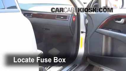 Fuse Interior Part 1 interior fuse box location 2008 2016 volvo xc70 2008 volvo xc70  at n-0.co