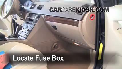 Interior Fuse Box Location: 2003-2014 Volvo XC90 - 2008 Volvo XC90