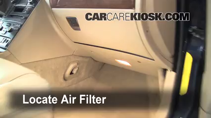 2008 Volvo XC90 3.2 3.2L 6 Cyl. Air Filter (Cabin) Check