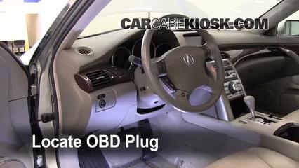 2008 Acura RL 3.5L V6 Compruebe la luz del motor Diagnosticar