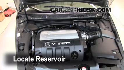 2008 Acura RL 3.5L V6 Liquide essuie-glace
