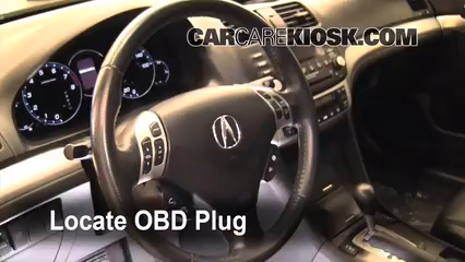 2008 Acura TSX 2.4L 4 Cyl. Check Engine Light