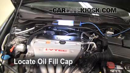 2008 Acura TSX 2.4L 4 Cyl. Oil