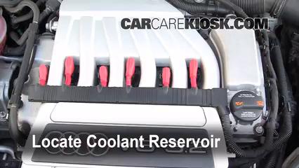 2008 Audi A3 Quattro 3.2L V6 Coolant (Antifreeze)