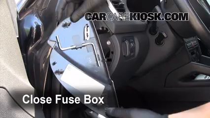 Interior Fuse Box Location: 2006-2013 Audi A3 - 2008 Audi A3 Quattro 3.2L V6   2008 Audi A3 Fuse Box      CarCareKiosk