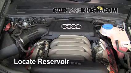 2008 Audi A6 3.2L V6 Líquido limpiaparabrisas