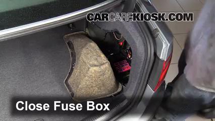 Replace a Fuse: 2008-2017 Audi S5 - 2008 Audi S5 4.2L V8 | Audi S5 Fuse Box Location |  | CarCareKiosk