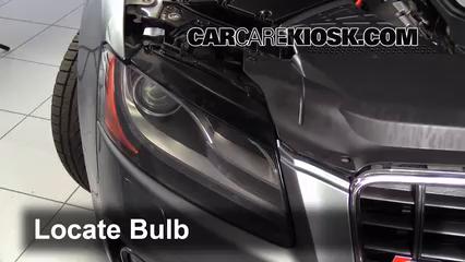 2008 Audi S5 4.2L V8 Luces Luz de estacionamiento (reemplazar foco)