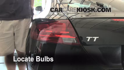 2008 Audi TT Quattro 3.2L V6 Coupe Lights