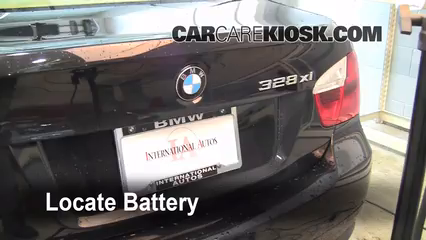 2008 BMW 328xi 3.0L 6 Cyl. Sedan (4 Door) Batterie