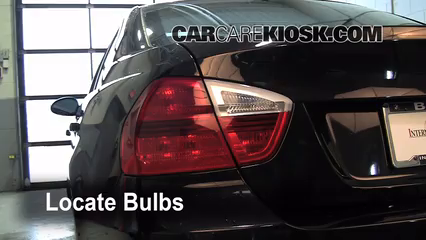 2008 BMW 328xi 3.0L 6 Cyl. Sedan (4 Door) Éclairage Feux de position arrière (remplacer ampoule)