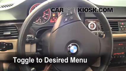 2008 BMW 328xi 3.0L 6 Cyl. Sedan (4 Door) Huile Vérifier le niveau de l'huile