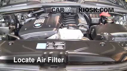2008 BMW 528xi 3.0L 6 Cyl. Filtro de aire (motor)