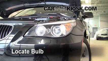 2008 BMW 528xi 3.0L 6 Cyl. Luces Luz de estacionamiento (reemplazar foco)