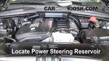 2010 BMW 528i 3.0L 6 Cyl. Power Steering Fluid
