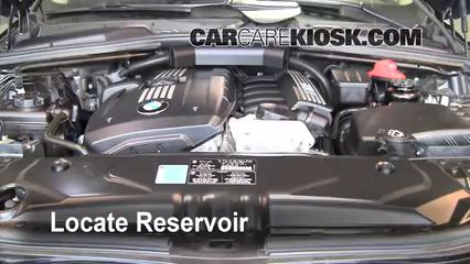 2008 BMW 528xi 3.0L 6 Cyl. Líquido limpiaparabrisas