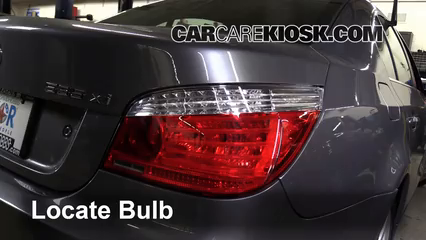 2008 BMW 535xi 3.0L 6 Cyl. Turbo Sedan Lights