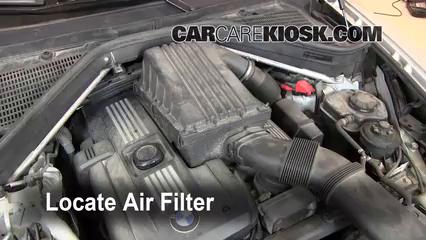 2008 BMW X5 3.0si 3.0L 6 Cyl. Filtro de aire (motor)