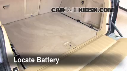 2008 BMW X5 3.0si 3.0L 6 Cyl. Battery Clean Battery & Terminals