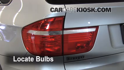2008 BMW X5 3.0si 3.0L 6 Cyl. Lights Tail Light (replace bulb)