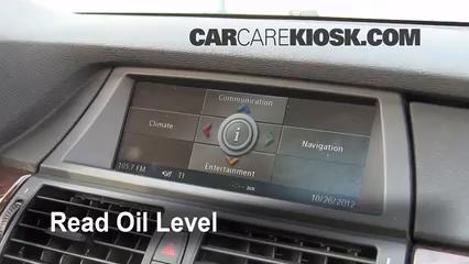 2008 BMW X5 3.0si 3.0L 6 Cyl. Oil Check Oil Level