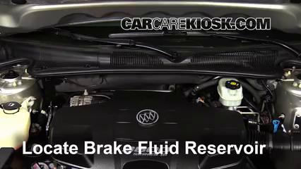 2008 Buick Lucerne CXL 3.8L V6 Líquido de frenos