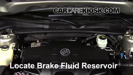 2008 Buick Lucerne CXL 3.8L V6 Liquide de frein