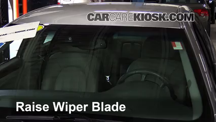2008 Buick Lucerne CXL 3.8L V6 Windshield Wiper Blade (Front) Replace Wiper Blades