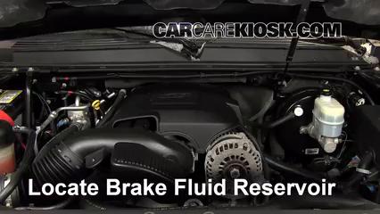 2008 Cadillac Escalade 6.2L V8 Liquide de frein