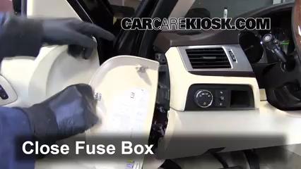 Interior Fuse Box Location 2007 2014 Cadillac Escalade 2008 Cadillac Escalade 6 2l V8